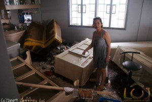 Dining room after Ondoy
