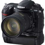 Nikon D200 with MB-D200 Battery Grip