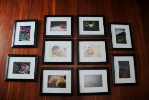 First Batch of Framed Photos