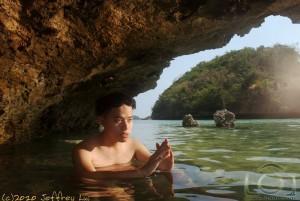 Fish Under The Rocks