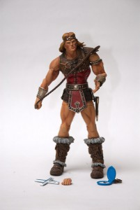Simon Belmont and his accessories
