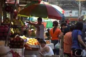 Fruit Vendors in Chinatown